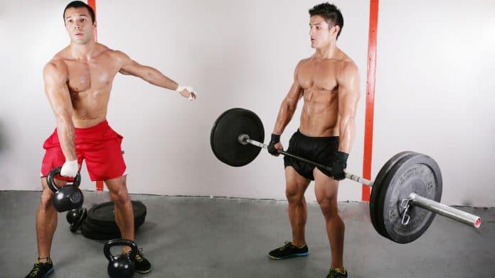 Accesorios de entrenamiento en el gimnasio