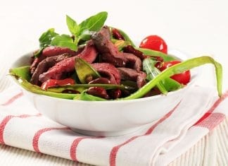 Almuerzos altos en proteínas