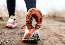Calzado para el ejercicio aeróbico