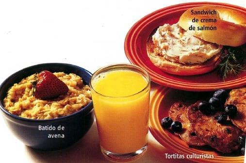 desayunos culturistas