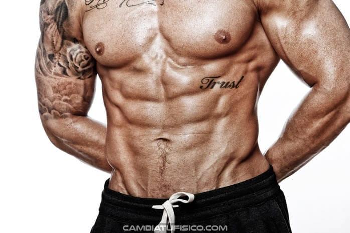 Dieta definición muscular