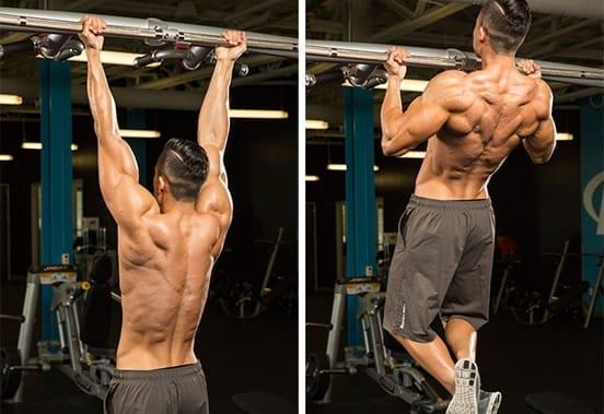 Dominadas para bíceps