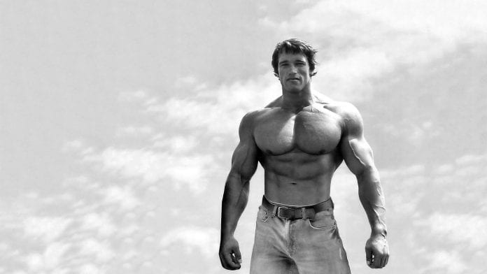 Arnold Schwarzenegger, ejercicios