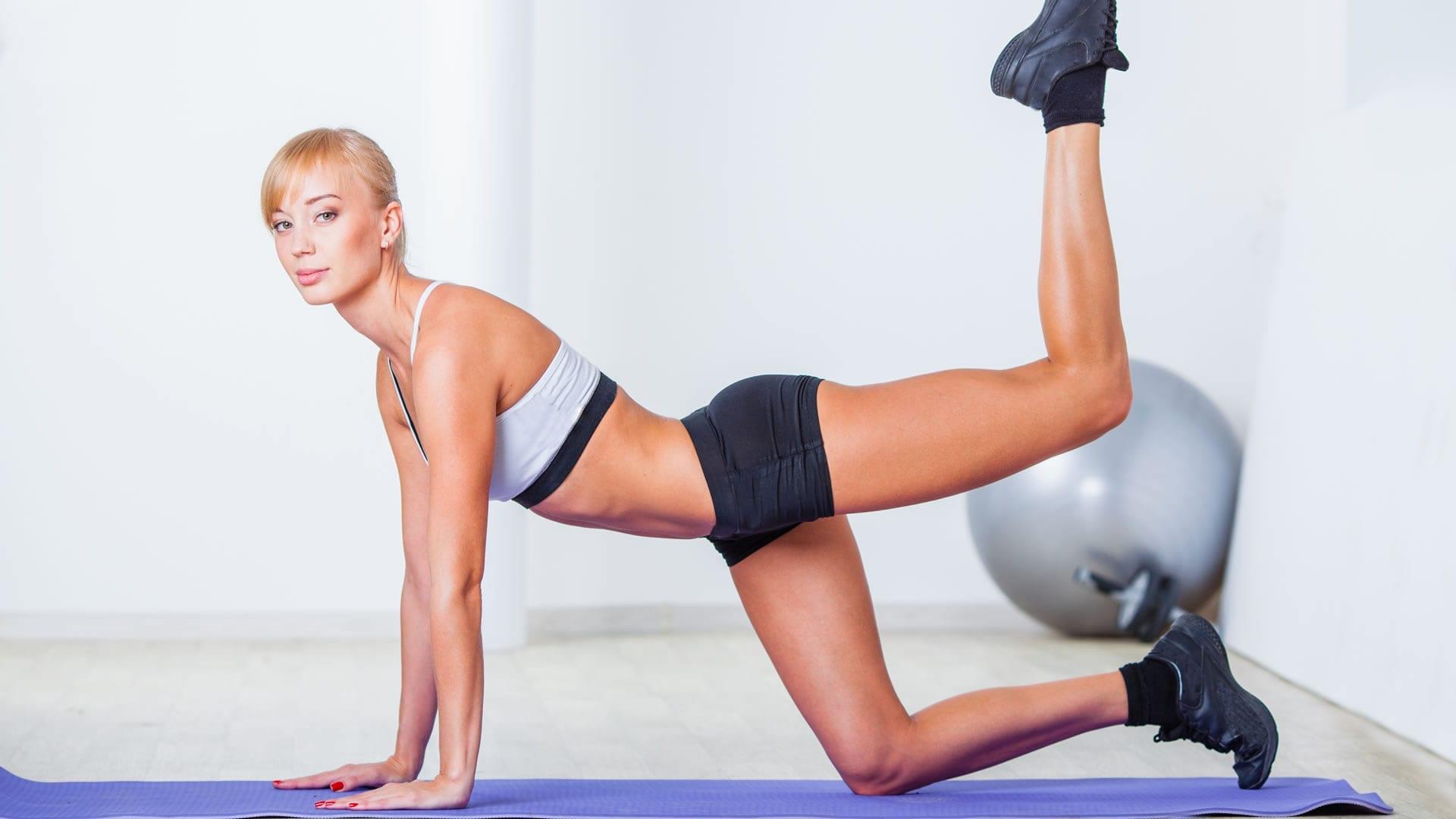rutina de ejercicio chicas potas