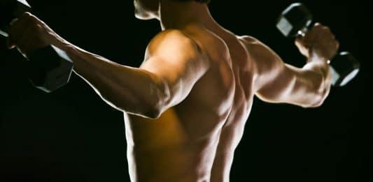 Estiramiento de los hombros