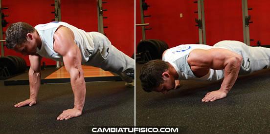 Flexiones en suelo