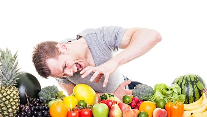 Fruta fresca cortada