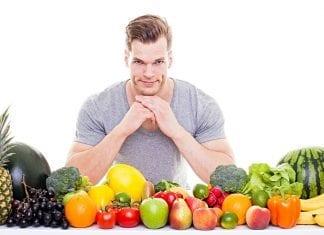 Frutas y verduras en tu dieta culturista