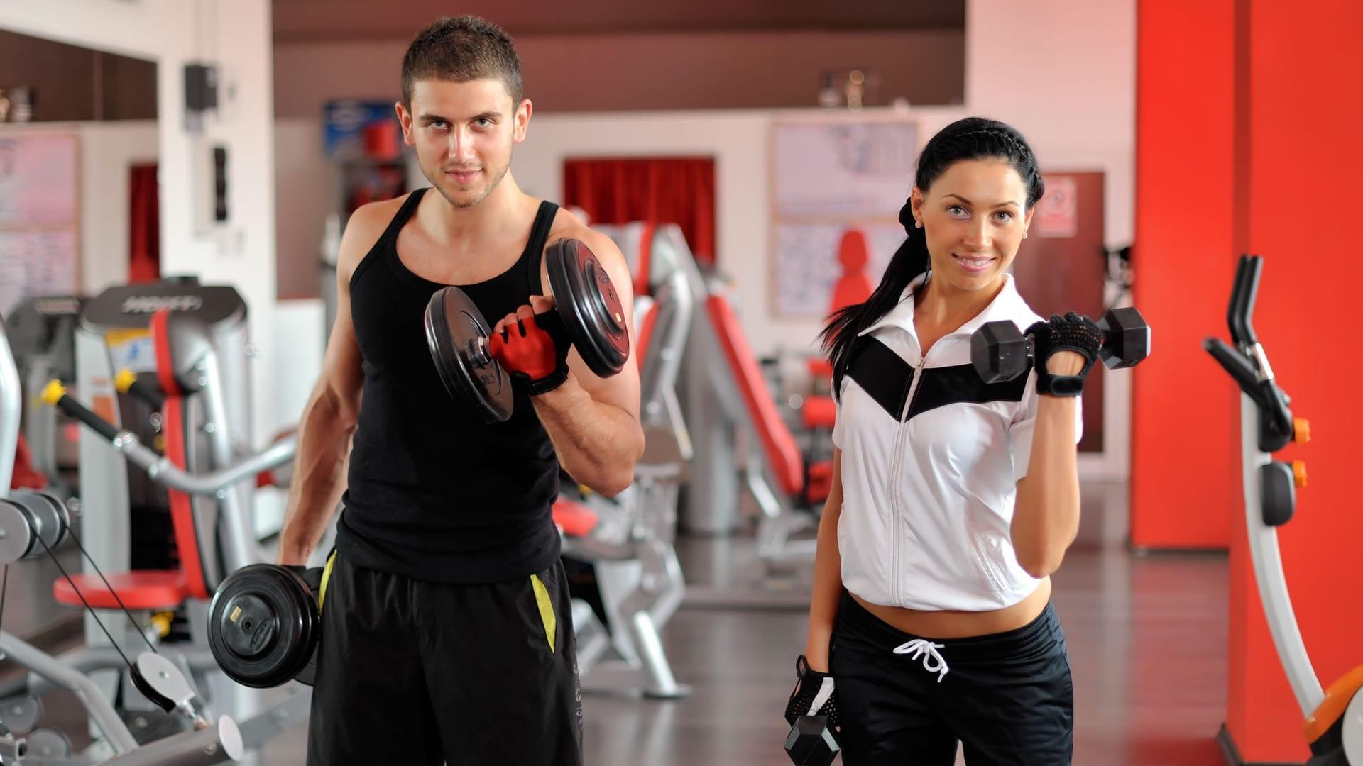 Gu a de gimnasio y musculaci n para principiantes - Ejercicios de gimnasio en casa ...