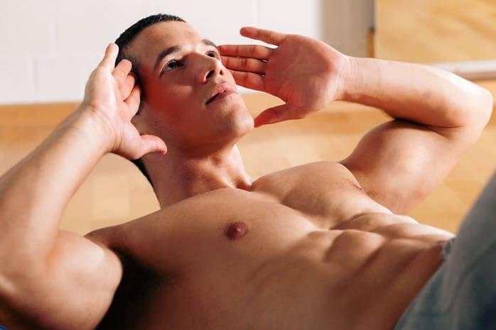 Hipertrofia del abdomen