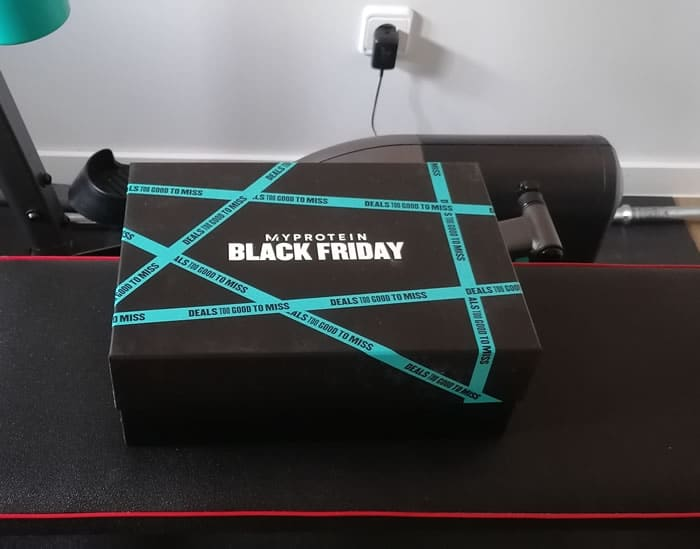 Caja My Protein Black Friday