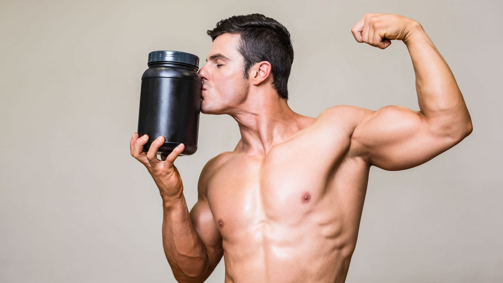 Muscle growth gym protein