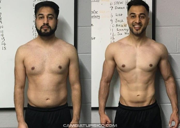 bajar de peso ganar musculo