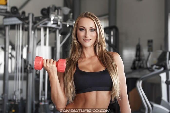 Cuanto peso utilizar en el gimnasio