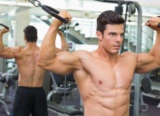 Rutina de bíceps con pesas