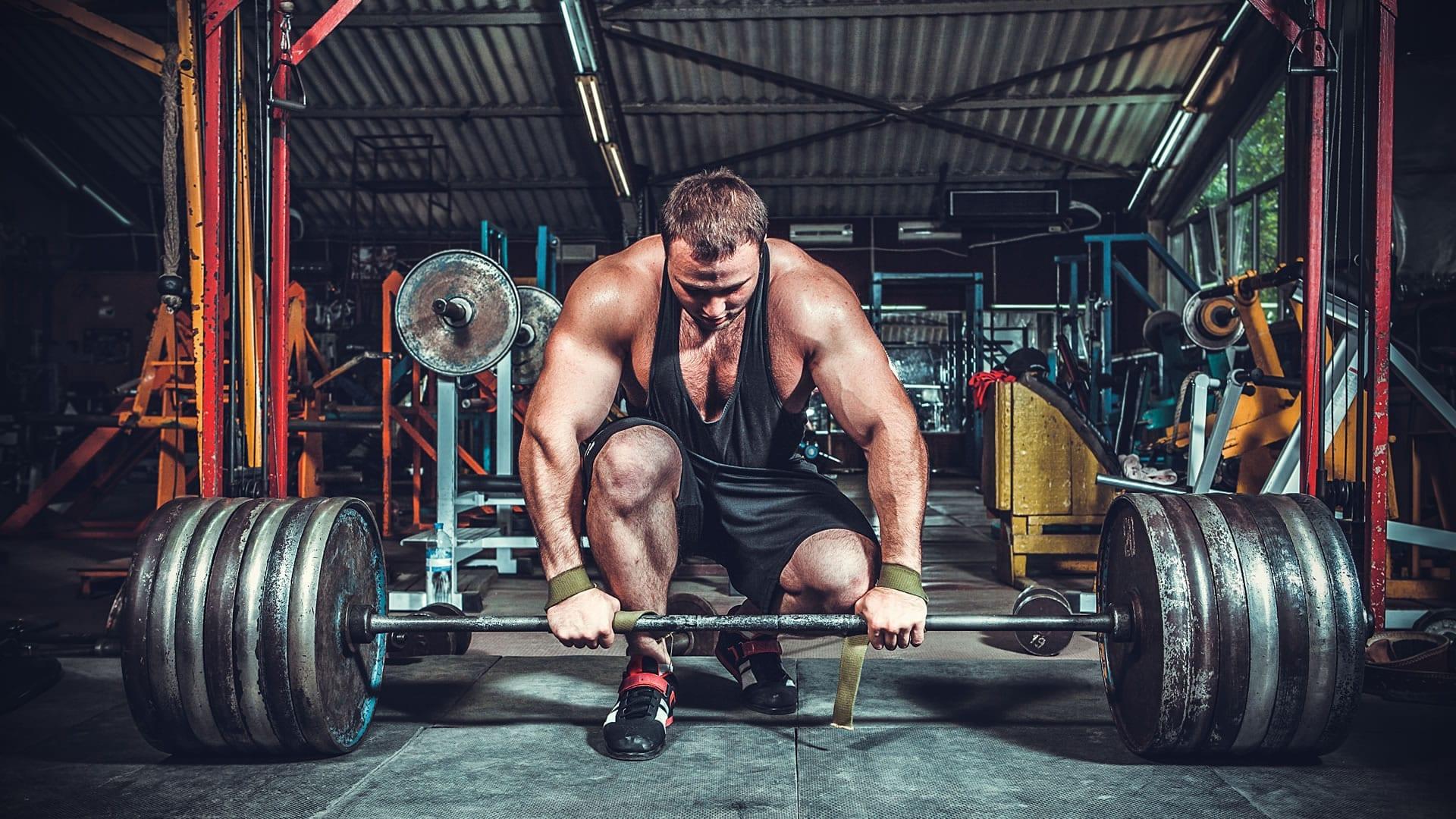 rutina gym volumen hombre