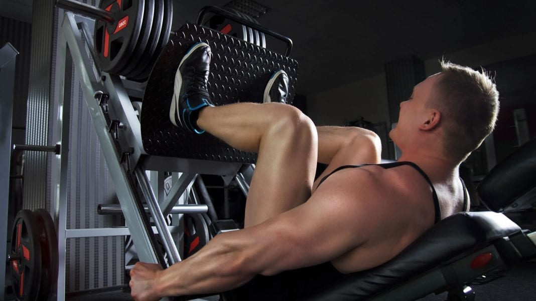 Rutina de masa muscular para pierna