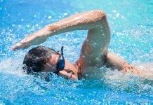 Rutina de pesas para natación