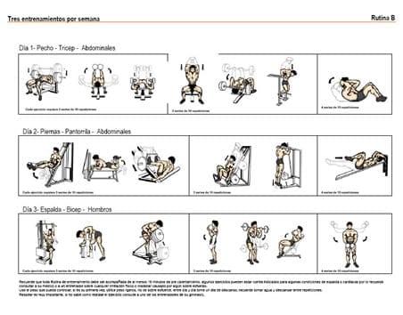 rutina de ejercicio las mas putas imagenes