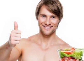 Verdura y masa muscular